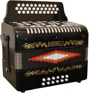 accordion baronelli