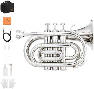 silver pocket trumpet