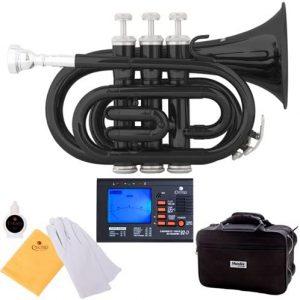 black pocket trumpet