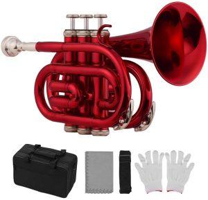 red pocket trumpet