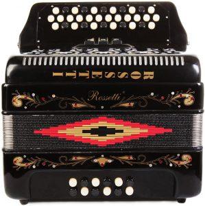 rosetti 34-keys accordion