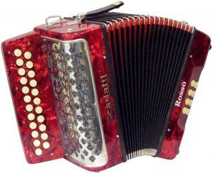 accordion red scarlatti