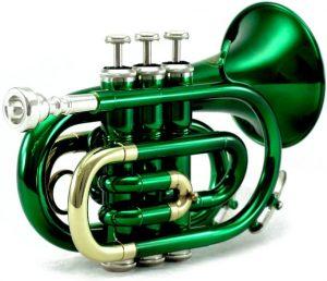 green pocket trumpet